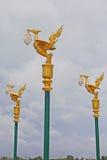 Light pole sculpture Stock Image