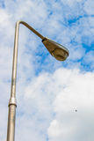 Light pole on the sky Stock Image
