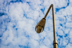 Light pole on the sky Stock Photos