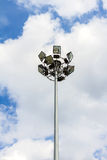 Light pole tower Stock Images