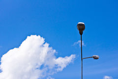 Light poles Stock Photography