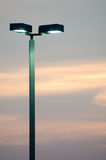 Light Poles Stock Photo