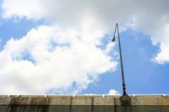 Light poles. Royalty Free Stock Image