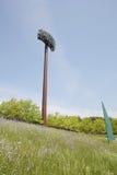 Light poles in the stadium Royalty Free Stock Image