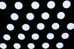 Light of polka dot pattern Stock Images