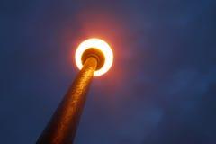 Light pollution royalty free stock photos