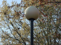 Light Post Stock Photography