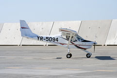 Light private aircraft Stock Photo