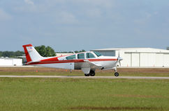 Light private airplane Royalty Free Stock Images