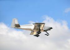 Light private airplane Stock Photo