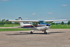 Light private plane Royalty Free Stock Image