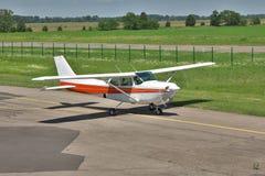 Light private plane Stock Image