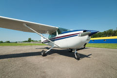 Light private plane Royalty Free Stock Photos