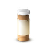 Light protection bottle medicine. For.This is medical device Stock Images