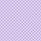 Light purple Gingham Fabric  Background. A light purple gingham fabric  background that is seamless Stock Photography