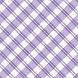 Light purple Plaid Fabric Background Royalty Free Stock Photography