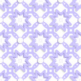 Light purple with stars and dots layered seamless Royalty Free Stock Photo