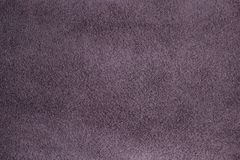Light purple suede texture. An even layer of light purple suede with a small pile. Smooth color transition. The velvety surface. Qualitative dressing of genuine Royalty Free Stock Photo