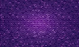 Light Purple vector triangle polygon background. Style with gradient. vector illustration Stock Illustration