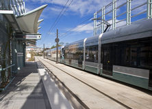 Light Rail Royalty Free Stock Images