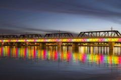 Light Rail Bridge royalty free stock images