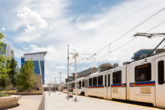 Light rail Royalty Free Stock Photography