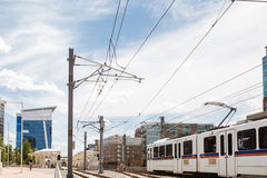 Light rail Royalty Free Stock Photos