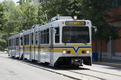Light Rail Sacramento Royalty Free Stock Photo