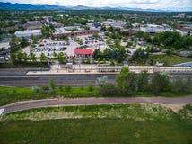 light rail station Στοκ φωτογραφίες με δικαίωμα ελεύθερης χρήσης
