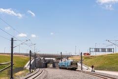 light rail station Στοκ Εικόνες