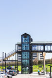 Light rail station Royalty Free Stock Photo