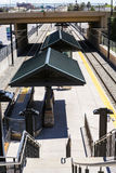 Light rail station Stock Photos
