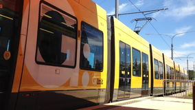 Light Rail  stock video footage