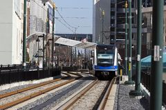 Light Rail System Stock Photos