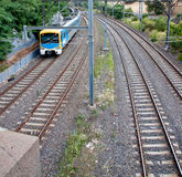 Light Rail Train Stock Image