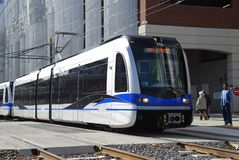Light Rail Transit System Stock Images