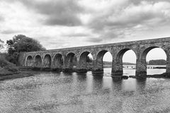 Light Railway bridge Stock Photo
