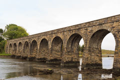 Light Railway bridge Royalty Free Stock Photo