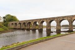 Light Railway bridge Royalty Free Stock Images
