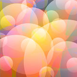 Light rainbow bubble Stock Photos