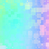 Light rainbow glowing rounded tiles background Royalty Free Stock Images