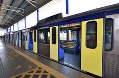 Light Rapid Transit Train Royalty Free Stock Photography