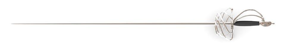 Light rapier sword Stock Images