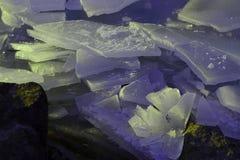 Light rare ice Royalty Free Stock Image
