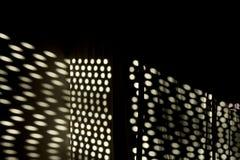 Light raster stream in the darkness. Light raster stream projection in the darkness Royalty Free Stock Images