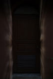 light ray through door, gate, doorway Stock Images