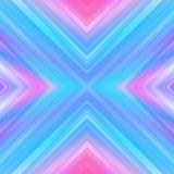 Light rays, abstract geometric ultraviolet background, x shape Royalty Free Stock Photography