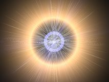 Light & Rays Background Stock Image