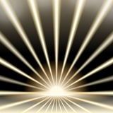 Light rays. Background rays of light on a dark background Royalty Free Stock Images