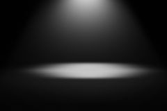Light rays black and white background Royalty Free Stock Images